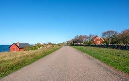 Ã-έδαφος νησιών της θάλασσας της Βαλτικής, Σουηδία Στοκ Φωτογραφία