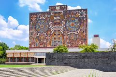 """Ã """"l'université autonome nationale du Mexique photo libre de droits"""