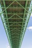 """Ã """"lvsborg桥梁从下面 免版税库存照片"""