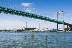 """Ã """"lvsborg most Gothenburg Szwecja zdjęcia royalty free"""