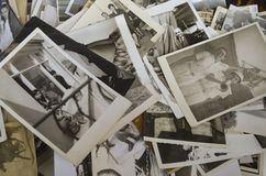 Ã ‡ ukurcuma的,老家庭照片sol伊斯坦布尔的古色古香的区 免版税库存照片