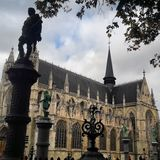 Ã ‰ glise Notre-Dame du Sablon stock fotografie