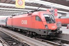 Ã-BB Lokomotive Stockfoto