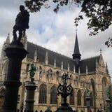 Ã ‰ glise Notre-Dame Du Sablon Fotografia Stock