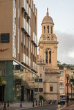 Ã-‰ glise St Charles, Monte Carlo Arkivbilder