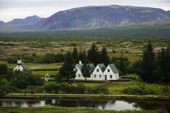 Þingvellir Fotografia de Stock