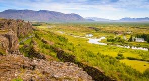 Þingvellir Fotografie Stock Libere da Diritti