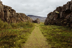 Þingvellir Fotografia Stock
