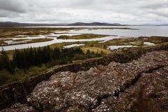 Þingvellir Obrazy Royalty Free
