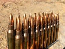 5 56Ã-45mm ammo Fotografia Stock