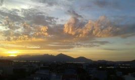  à Nẵng för solnedgångÄ Arkivbild