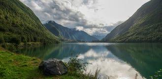 Ã… rdalsfjorden landschap Stock Fotografie
