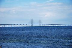 Øresund bro royaltyfria bilder