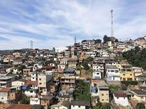 Ã São Paulo Brazil de Shanty Town Mairipor imagenes de archivo