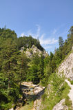 Ötschergräben, Austria. Grandiose and wonderful mountain scenery in the Austrian Alps Royalty Free Stock Image