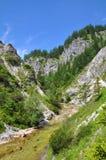 Ötschergräben, Austria. Grandiose and wonderful mountain scenery in the Austrian Alps Royalty Free Stock Images