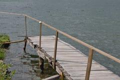  úvadlo de PoÄ - lago Fotografia de Stock