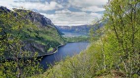 Øvre Eidfjord Images stock