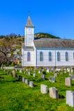 Øystese kyrka arkivbilder