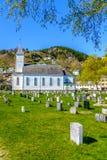 Øystese kyrka arkivfoton