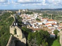 Ãbidos Ansicht, Portugal Stockbild