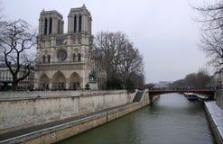 Ãle de la Cité Paris Imagens de Stock Royalty Free