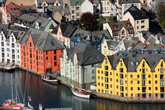 Ãlesund, Noruega Imagen de archivo