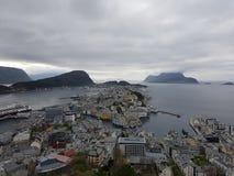 Ãlesund, Norvège images libres de droits
