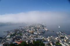 Ãlesund, Norvegia Immagine Stock