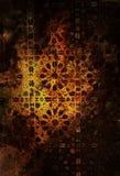 Ä°slamic-Mosaik-Hintergrund stockbilder
