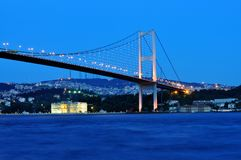 Ä°stanbul bosphorus bridge Stock Image