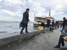 İstanbul Kadıköy Sahil Fotografia Stock Libera da Diritti