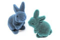 两只复活节兔子的 免版税库存照片
