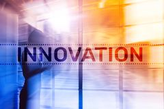 两次曝光创新tex 商业和技术 皇族释放例证