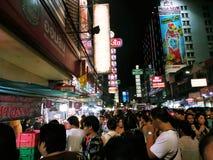 中国街食物在泰国 库存照片