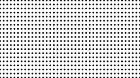中间影调许多小点,计算机生成的抽象背景,3D回报与错觉作用的背景 股票录像