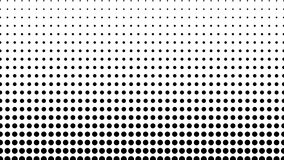中间影调许多小点,计算机生成的抽象背景,3D回报与错觉作用的背景 股票视频