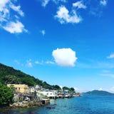三家村Sam Ka Tsuen royalty free stock photo