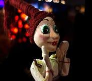 人牵线木偶-图象 令人敬畏的要人 库存图片