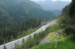 井冈山. Beautiful scenery in the Chinese mountain Royalty Free Stock Image