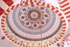 五颜六色的清真寺圆顶 免版税库存图片