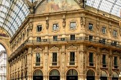 从画廊维托里奥Emanuelle里边的图片II 库存照片