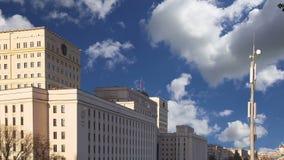 俄国FederationMinoboron,天的theÂ国防部主楼  股票视频