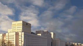 俄国FederationMinoboron,天的theÂ国防部主楼  莫斯科俄国 股票录像