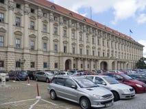 ÄŒernÃn宫殿,布拉格 库存照片