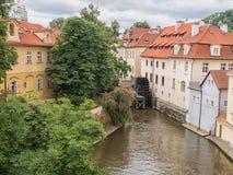 ÄŒertovka Watermill royalty-vrije stock afbeeldingen