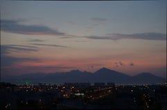 Ä- àNẵng Sonnenuntergang Lizenzfreie Stockbilder