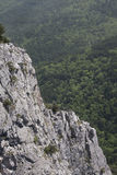 Ä°da (Kaz) berg i Turkiet arkivfoton