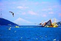 Ä°stanbul Bosphorus Στοκ Εικόνες