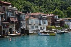 Ä°stanbul Bosphorus Anadolu Kavagi stockfotos